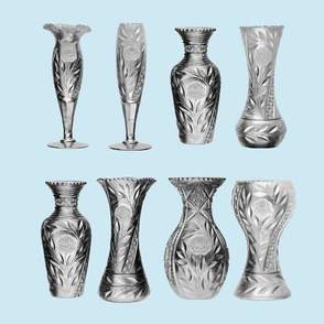 Cut Glass Vases