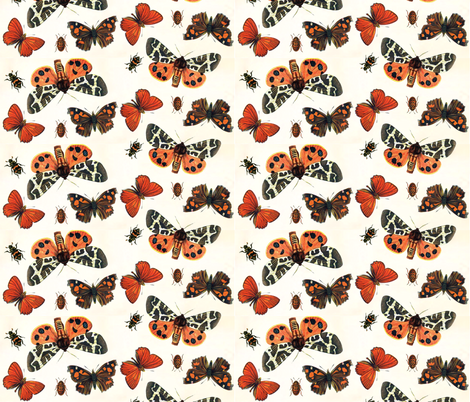 Boo-tiful Butterflies fabric by hauteideas on Spoonflower - custom fabric