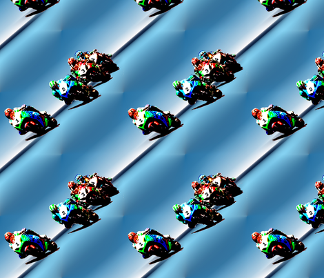 racing_bikes fabric by farrellart on Spoonflower - custom fabric