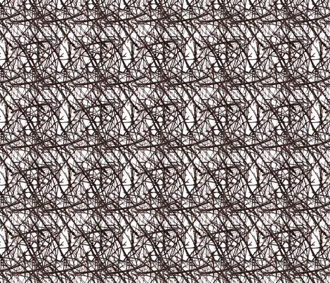 sticks & twigs fabric by cmerdian on Spoonflower - custom fabric