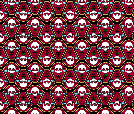 Casket 1 fabric by jadegordon on Spoonflower - custom fabric