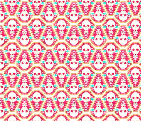 Casket 2 fabric by jadegordon on Spoonflower - custom fabric