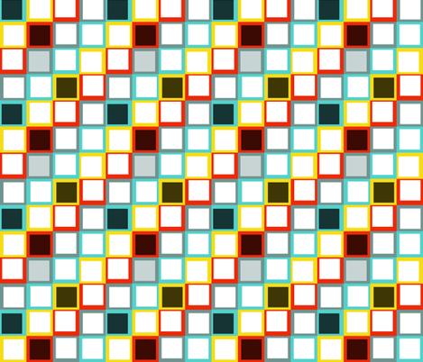 squares fabric by eedeedesignstudios on Spoonflower - custom fabric
