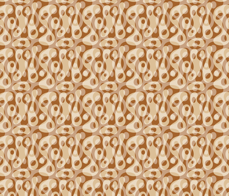 Micro Latte Java fabric by vonster on Spoonflower - custom fabric
