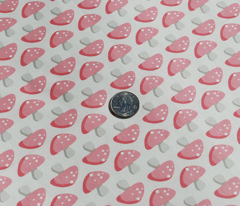 Mushroom March - Pink