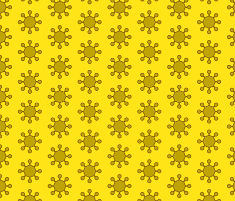 little_suns fabric by holli_zollinger on Spoonflower - custom fabric