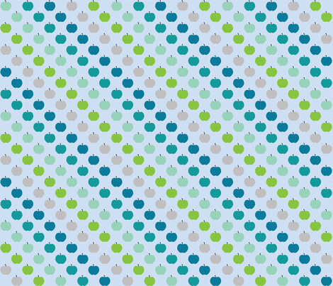 Apple Boys fabric by kaddy_w on Spoonflower - custom fabric