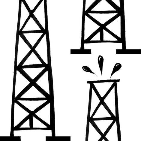Oil Wells fabric by boris_thumbkin on Spoonflower - custom fabric