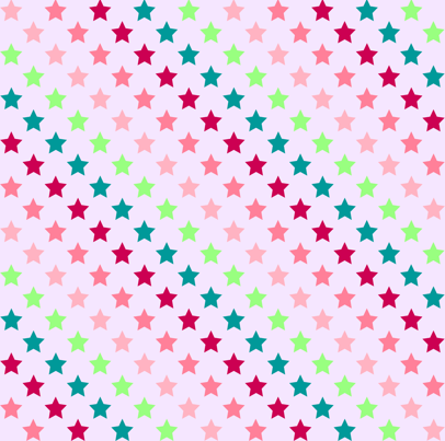 Stars for Girls fabric by kaddy_w on Spoonflower - custom fabric