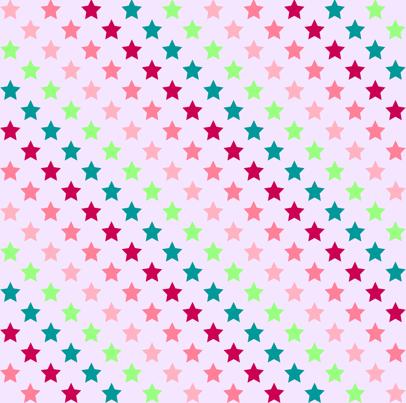 Stars for Girls fabric by kaddy_w on Spoonflower - custom fabric