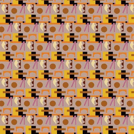 Industrial Deco Lifeguard Tower fabric by boris_thumbkin on Spoonflower - custom fabric