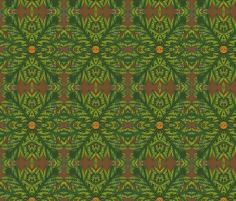 Autumn Scanleaves fabric by winter on Spoonflower - custom fabric