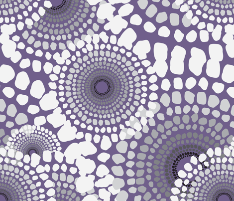 Pile Up Lavender  fabric by dolphinandcondor on Spoonflower - custom fabric