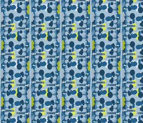scene fabric by tangerinesamurai on Spoonflower - custom fabric