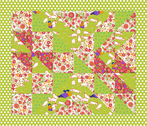 123_mouton fabric by nadja_petremand on Spoonflower - custom fabric