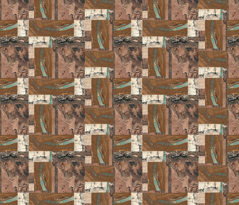 Opal-Birchbark Blox fabric by Clothdog on Spoonflower - custom fabric