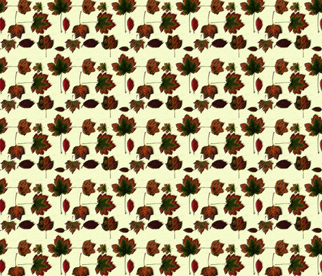 AutumnLeaves fabric by patters on Spoonflower - custom fabric