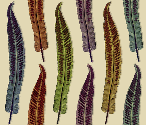 velvet_leaves fabric by peppermintpatty on Spoonflower - custom fabric