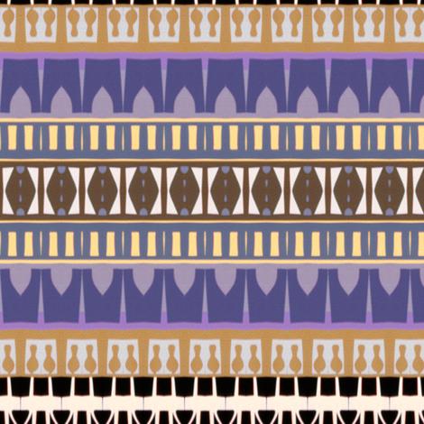 Mosque Stripes fabric by boris_thumbkin on Spoonflower - custom fabric