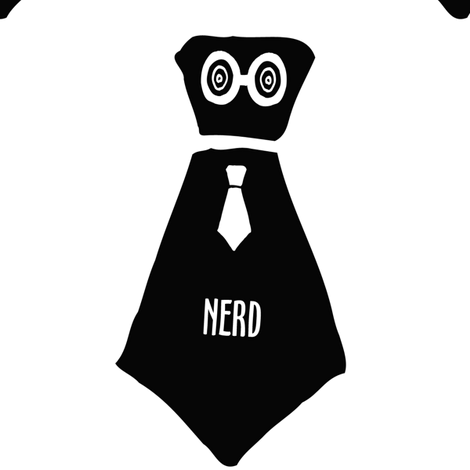 The Office Nerd fabric by woolybumblebee on Spoonflower - custom fabric