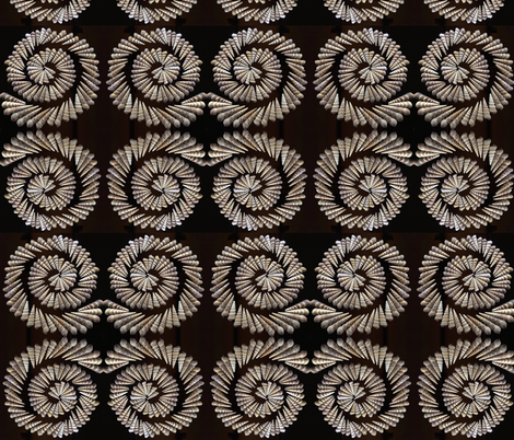 spiral shells fabric by uzumakijo on Spoonflower - custom fabric