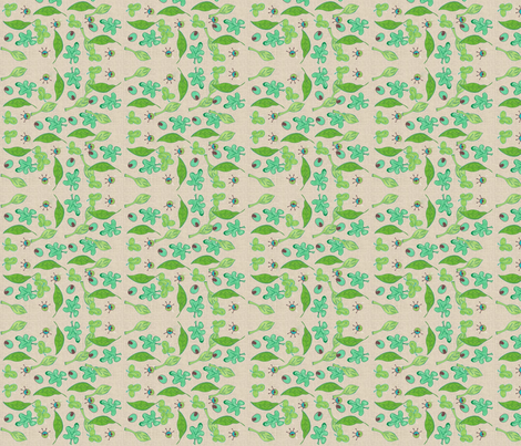Family Tree COMP-319 fabric by kkitwana on Spoonflower - custom fabric