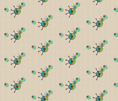 Family Tree COMP-320 fabric by kkitwana on Spoonflower - custom fabric