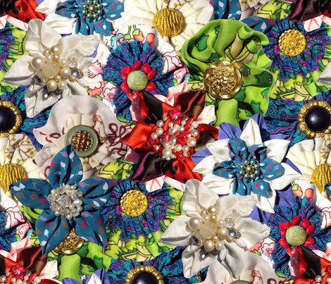 Spring Lives On! fabric by patternbase on Spoonflower - custom fabric