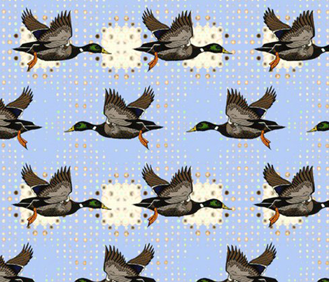 duckhunt fabric by patternbase on Spoonflower - custom fabric