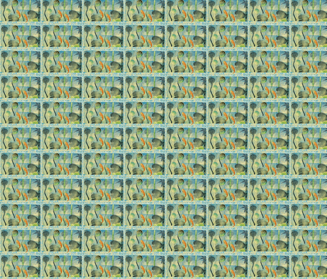 Lagoon fabric by bad_penny on Spoonflower - custom fabric