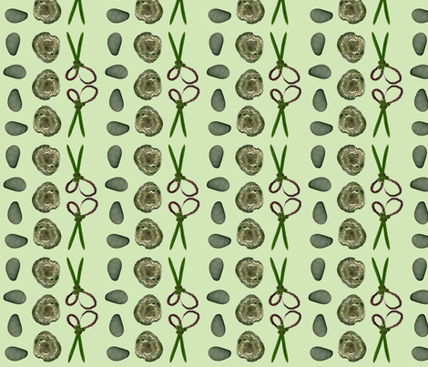 Rock/Paper/Scissors fabric by debrahill on Spoonflower - custom fabric