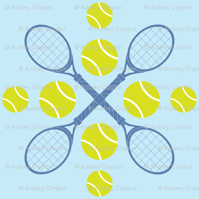 Blue Tennis