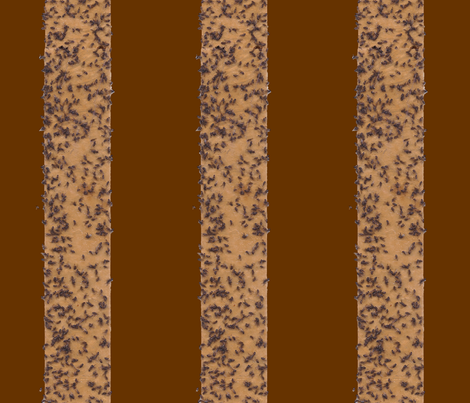 fly_stripe_brown_background fabric by victorialasher on Spoonflower - custom fabric