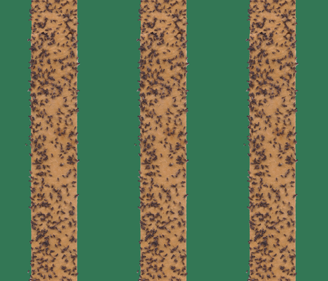fly_stripe_dark_green_background fabric by victorialasher on Spoonflower - custom fabric