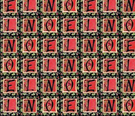 Noel fabric by leslipepper on Spoonflower - custom fabric