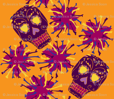 Beautiful Bones: Fiesta - Tangerine