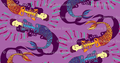 Beautiful Bones: Sirenas - Lilac