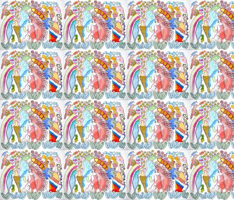 01__Colloquacity__2010_Medyn-ed fabric by wildwatercolors on Spoonflower - custom fabric