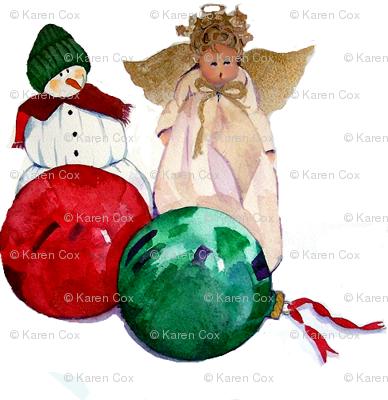Benjamin's Christmas Ornaments Garland