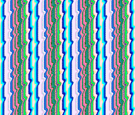 Candy-Colored Stripes fabric by robin_rice on Spoonflower - custom fabric