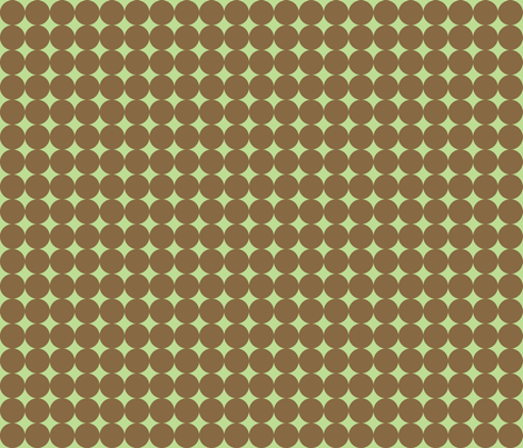 Green Spots fabric by audreyclayton on Spoonflower - custom fabric