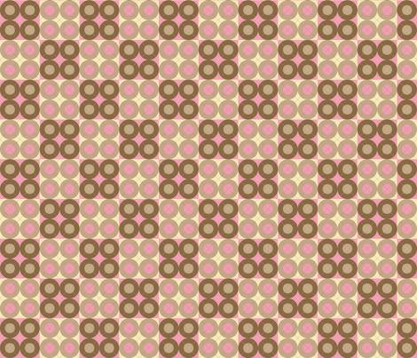 Pink Argyle Circles