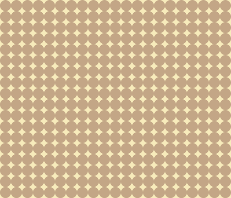 Cream Spots fabric by audreyclayton on Spoonflower - custom fabric