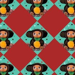 Cheburashka Argyle