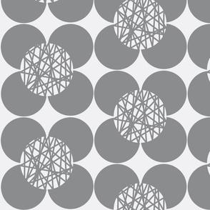Fifties Flower Grey