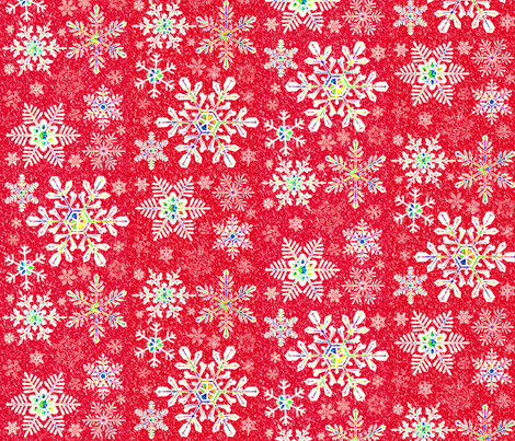 O the Weather Outside Is Frightful! fabric by robin_rice on Spoonflower - custom fabric
