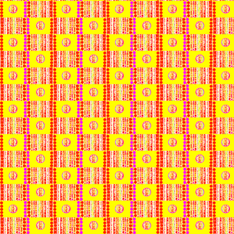 Wonky Striped Checks fabric by robin_rice on Spoonflower - custom fabric