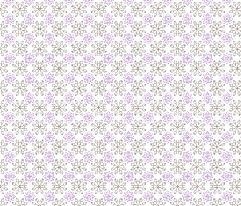 Multi Dots - Purple fabric by kristopherk on Spoonflower - custom fabric