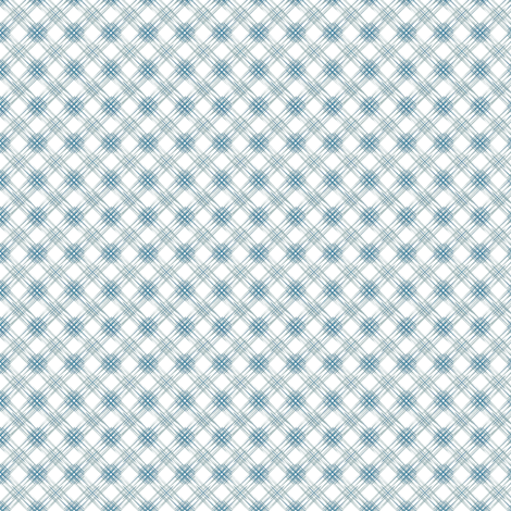 Multi Diamonds - Blue fabric by kristopherk on Spoonflower - custom fabric