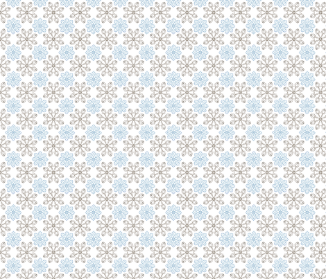 Multi Dots - Blue fabric by kristopherk on Spoonflower - custom fabric